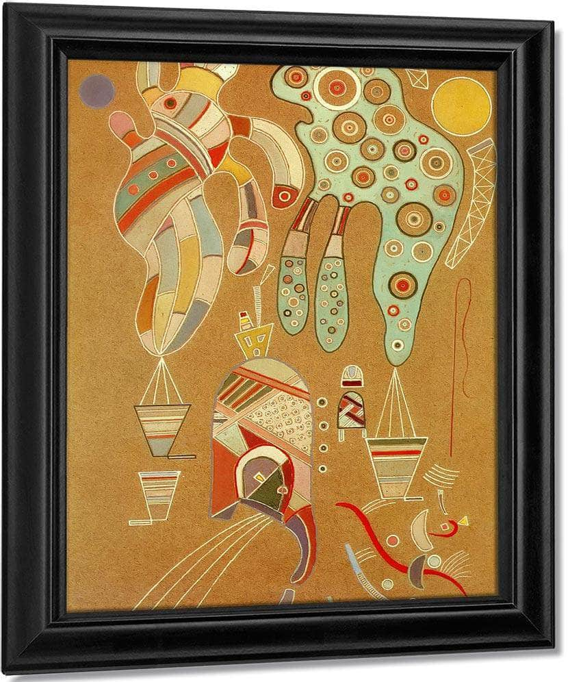Untitled 1941 By Wassily Kandinsky