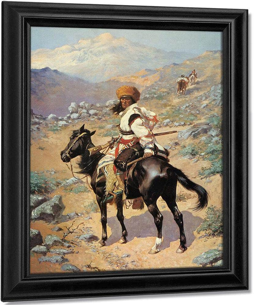 Untitled 2 By Frederic Remington