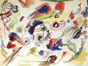 Untitled (First Abstract Watercolour By Wassily Kandinsky