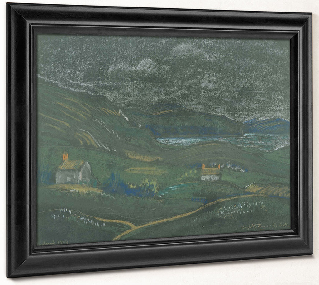 Untitled Landscape (County Cork) By Dwight William