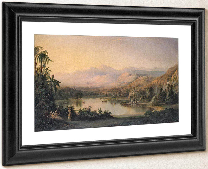 Vale Of Kashmir By Duncanson Robert