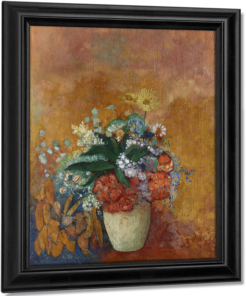Vase Of Flowers 1 By Odilon Redon
