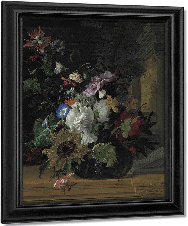 Vase Of Flowers By Rachel Ruysch