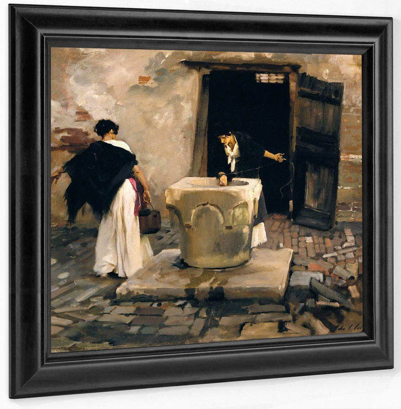 Venetian Water Carriers By John Singer Sargent