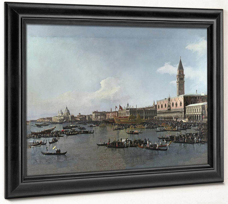 Venice  The Basin Of San Marco On Ascension Day By Canaletto