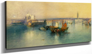 Venice From The Tower Of San Giorgio By Thomas Moran