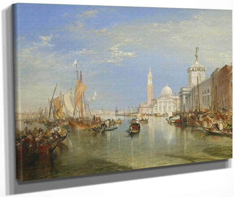 Venice The Dogana And San Giorgio Maggiore By Joseph Mallord William Turner