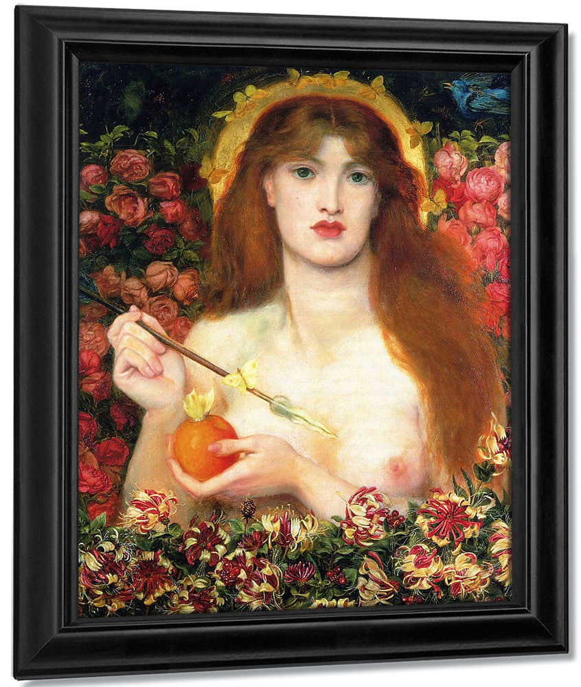 Venus Verticordia 1863 1868 83 8X71 2Cm Russell Cotes Art Gallery And Museum Bournemouth By Dante Gabriel Rossetti