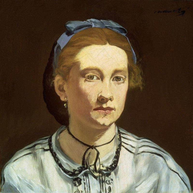 Victorine Meurent By Manet Edouard