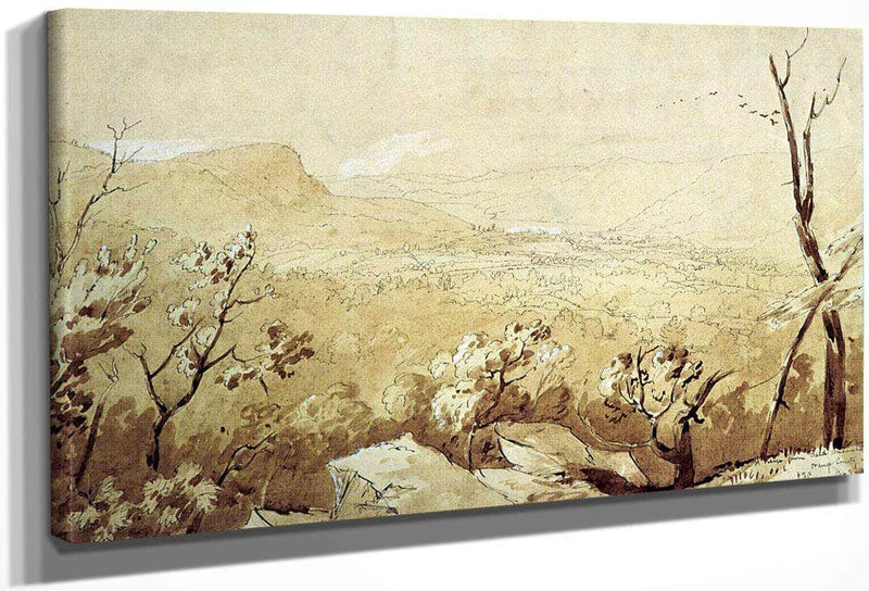 View Of Bald Mountain Orange City New Jersey By Cropsey Jasper Francis