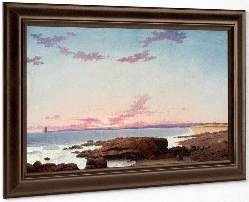 View Of Coffin's Beach By Henry Fitz Lane