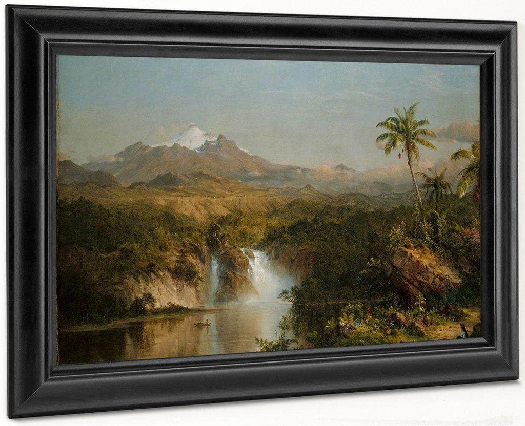 View Of Cotopaxi By Fredric Edwin Church