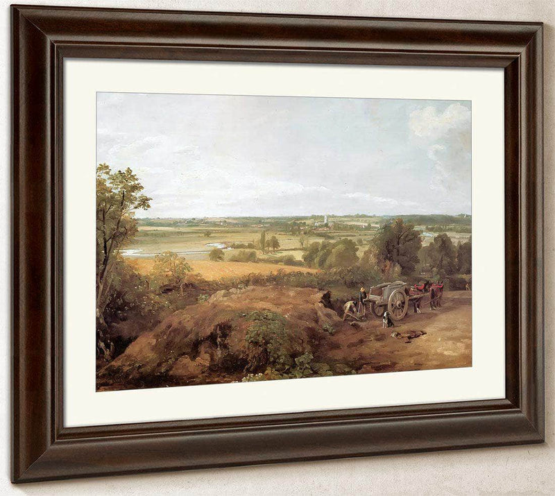 View Of Dedham By John Constable