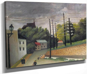 View Of Malakoff 1908 By Henri Rousseau