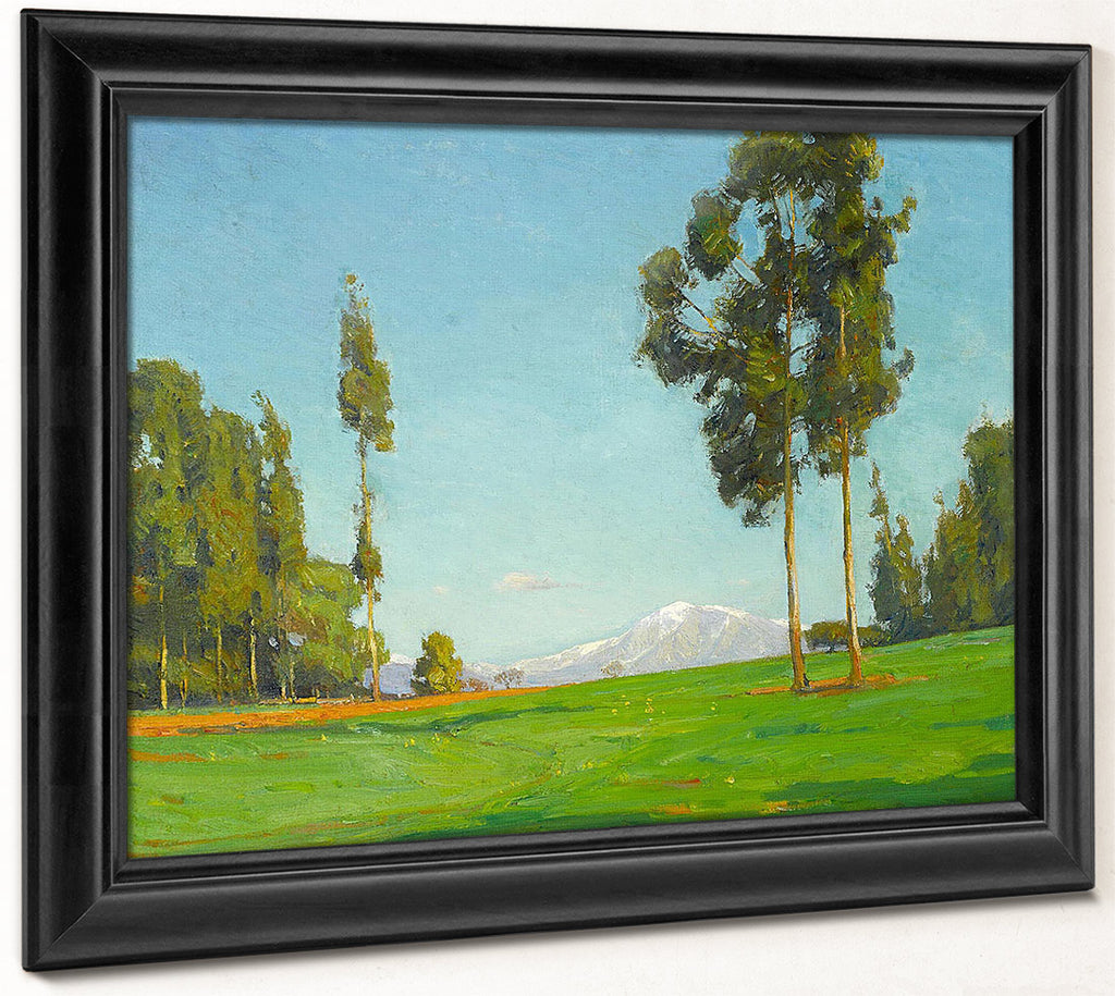 View Of Mount Baldy 1916 By William Wendt