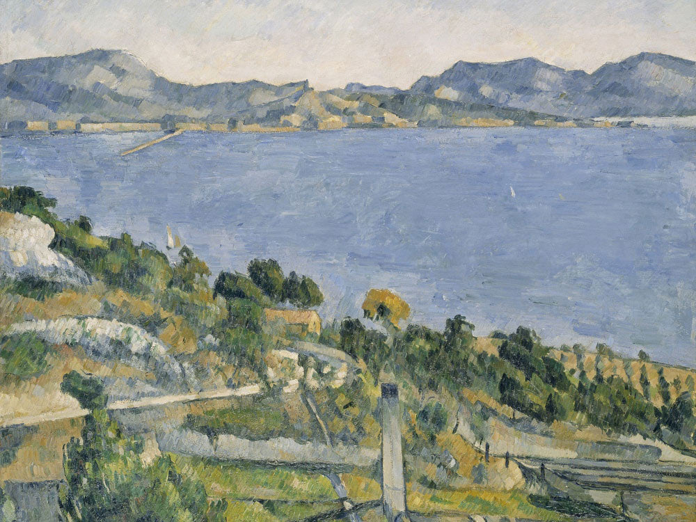 View Of The Marseille Gulf From L'estaque, Ca. 1878 79 By Paul Cezanne