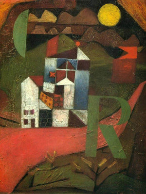 Villa R 1919 153 By Paul Klee