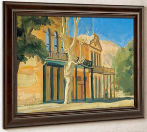Virginia City By Maynard Dixon