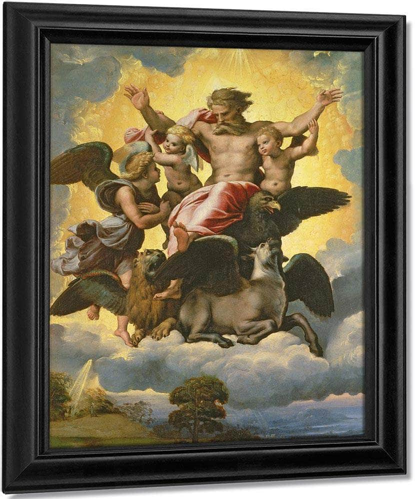 Vision Of Ezekiel By Raphael