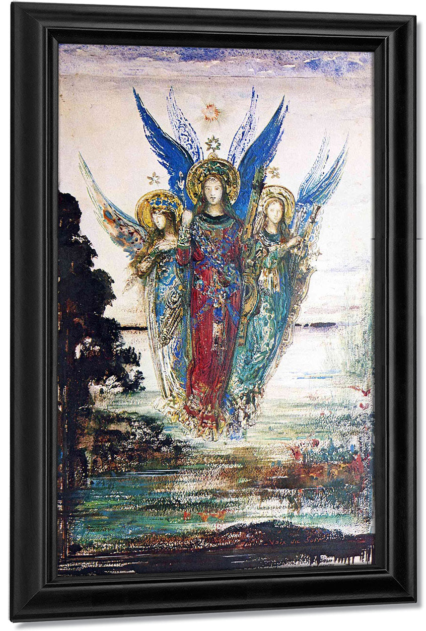 Voices Of Evening 1885 By Gustave Moreau