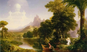 Voyage By Of By Life By Youth By Thomas By Cole
