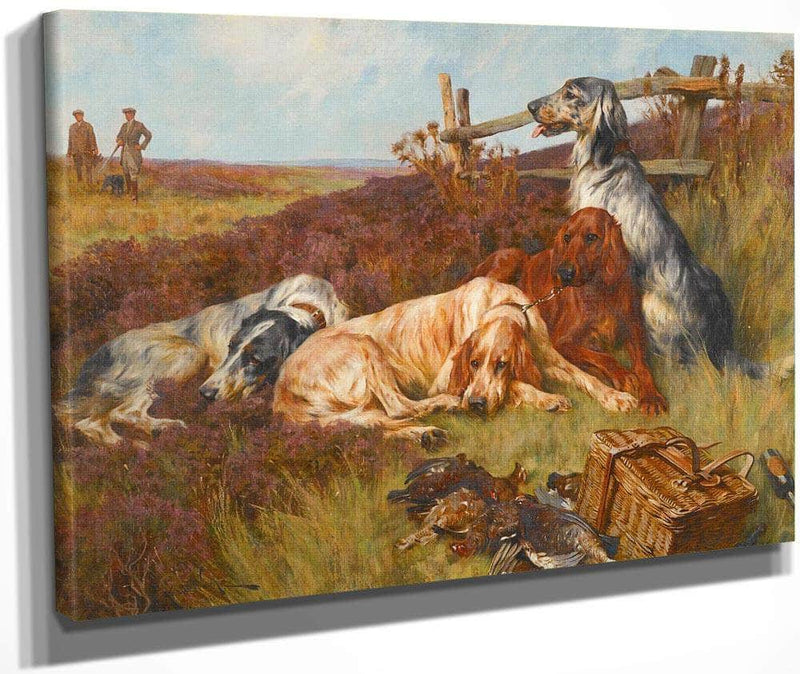 Waiting For The Guns By Arthur Wardle
