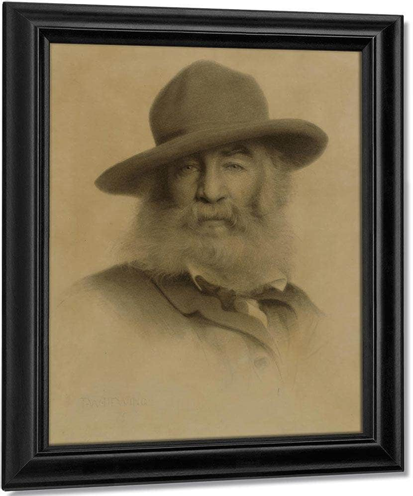 Walt Whitman By Thomas Wilmer Dewing