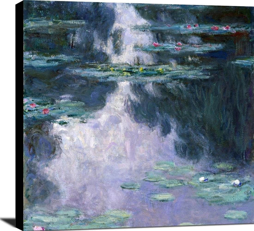 Water Lilies Nympheas Painting Claude Monet Canvas Art