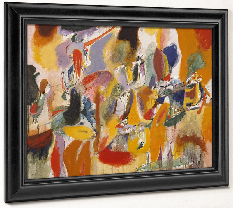 Water Of The Flowery Mill By Arshile Gorky