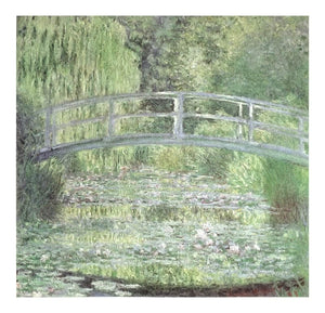 Waterlily Pond Symphony In Green by Claude Monet