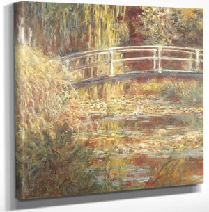 Waterlily Pond Symphony In Pink By Claude Monet