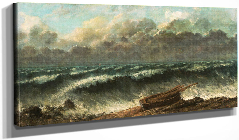 Waves By Gusave Courbet