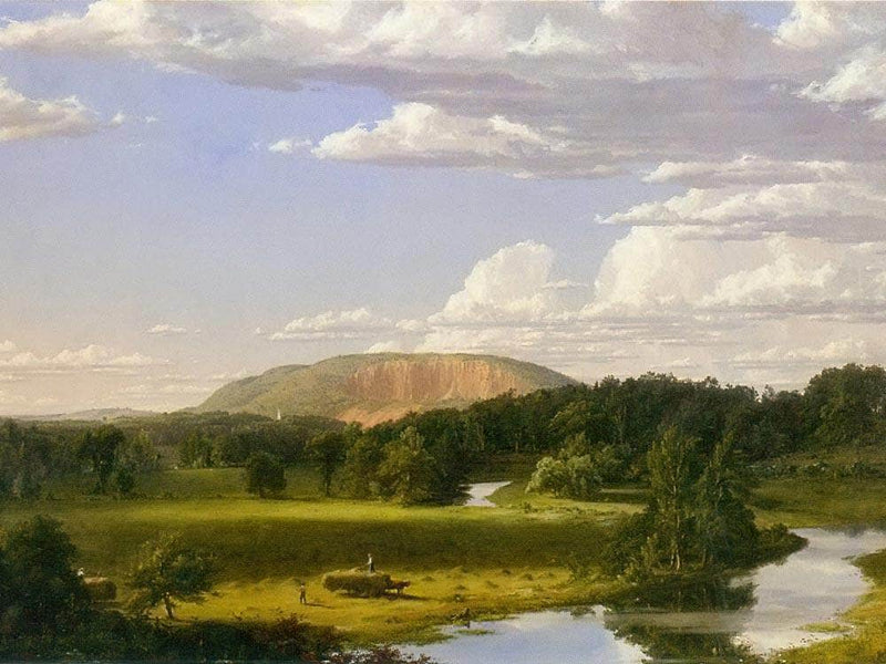 West Rock New Haven By Frederic Edwin Church