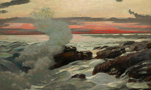 West By Point By Prouts By Neck By Winslow Homer