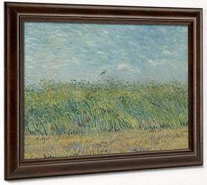 Wheatfield With Partridge 2 By Vincent Van Gogh