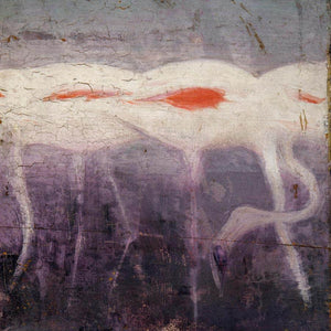 White Flamingoes, Study For Book Concealing Coloration In The Animal Kingdom By Abbott Handerson Thayer