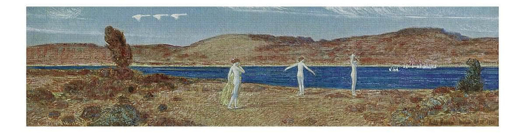 Wild Swans Sacred To Apollo By Childe Hassam Canvas Print from Truly Art