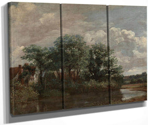 Willy Lott 1039 S House 1802 By John Constable