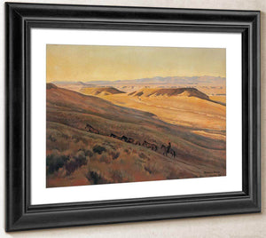 Wind River Valley By Maynard Dixon