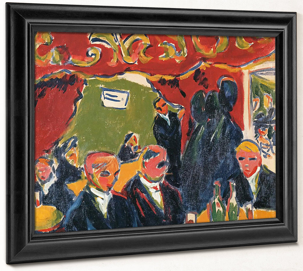 Wine Bar By Ernst Ludwig Kirchner