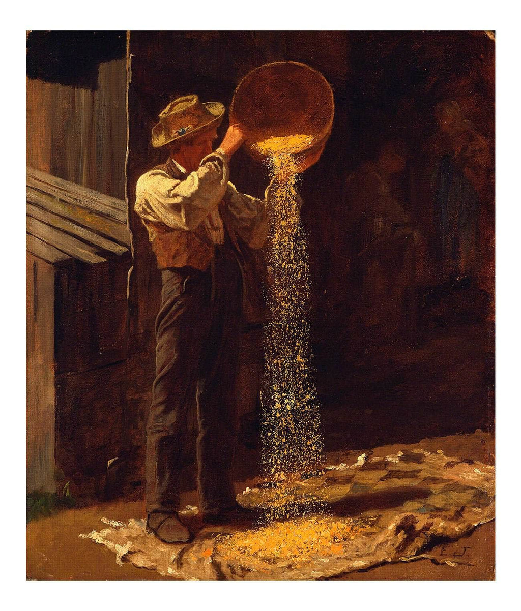 Winnowing Grain Johnson Eastman
