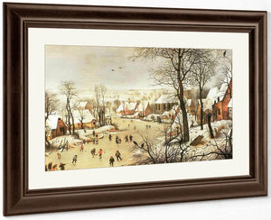 Winter Landscape With A Bird Trap 1565 By Pieter Bruegel