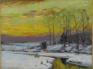 Winter Stream 1912 By Bruce Crane