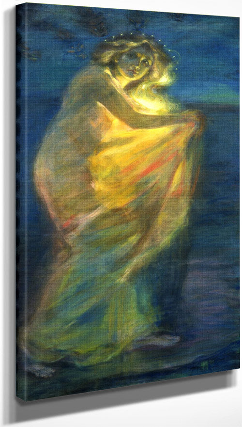 Woman Clothed With The Sun By Alice Pike Barney