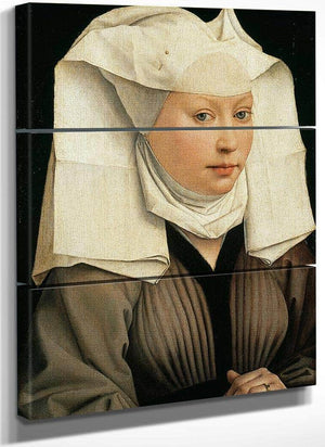 Woman With A Winged Bonnet 1440 By Rogier Van Der Weyden