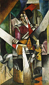 Woman With Animals Painting Albert Gleizes Canvas Art