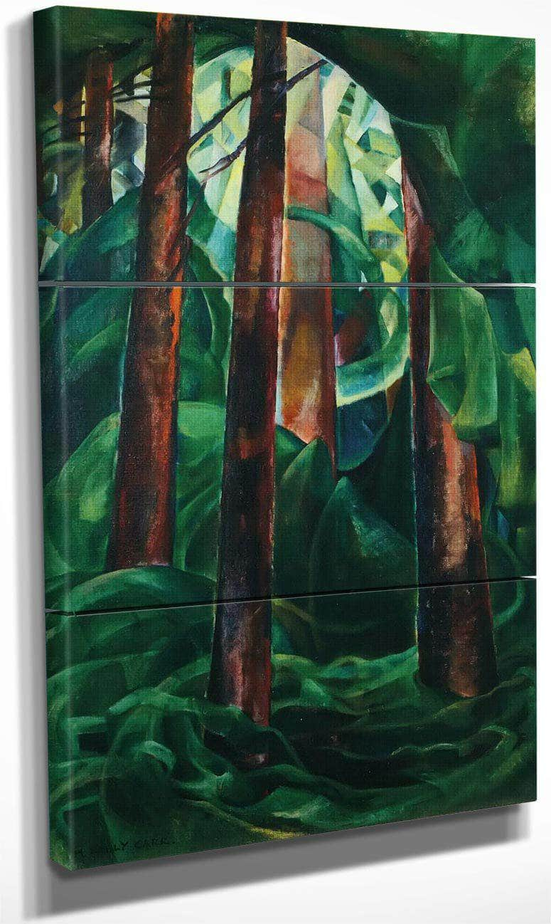Wood Interior By Emily Carr