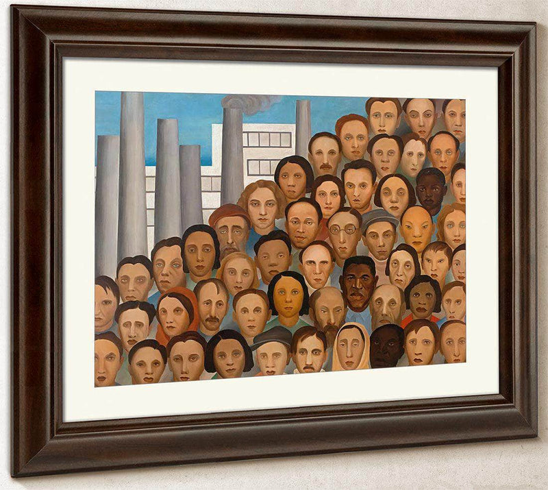 Workers By Tarsila Do Amaral