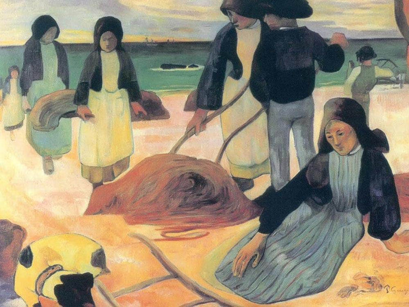 Wrack Collectors By Paul Gauguin
