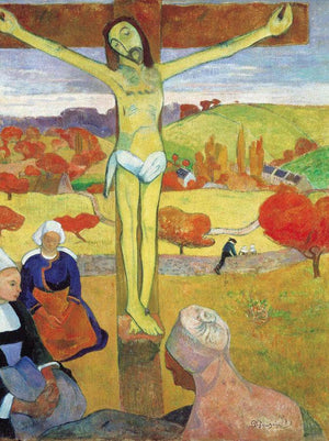 Yellow Christ By Paul Gauguin